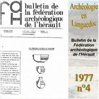 Archéologie en Languedoc 1977-4 Bulletin