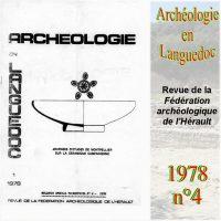 Archéologie en Languedoc 1978-4 Bulletin