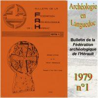 Archéologie en Languedoc 1979-1 Bulletin