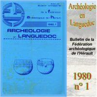 Archéologie en Languedoc 1980-1 Bulletin