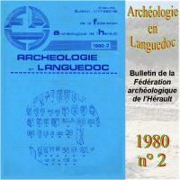 Archéologie en Languedoc 1980-2 Bulletin