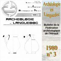 Archéologie en Languedoc 1980-3 Bulletin
