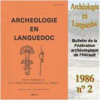 Archéologie en Languedoc 1986-2 Bulletin
