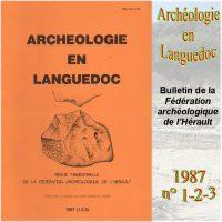 Archéologie en Languedoc 1987-1-2-3 Bulletin