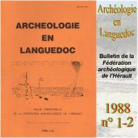 Archéologie en Languedoc 1988-1-2 Bulletin