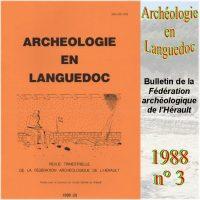 Archéologie en Languedoc 1988-3 Bulletin