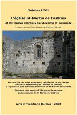 L'église St-Martin de Castries et les fermes châteaux de St-Martin et Ferrussac (La-Vacquerie-et-Saint-Martin-de Castries, Hérault)