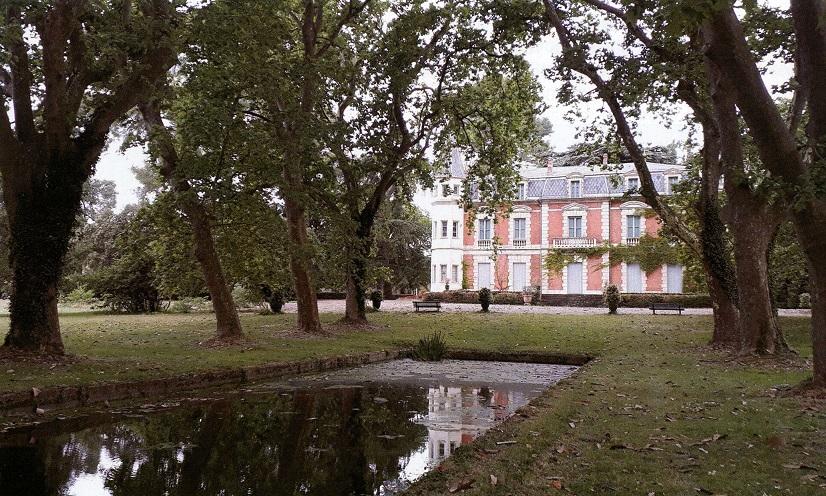 GREC Vue du château neuf de la Grange des Prés (Photo : Marc KERIGNARD)