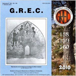 GREC Première de couverture 158-160