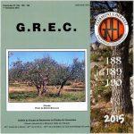 GREC 2015 Fascicules 188-189-190